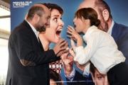 Foto/IPP/Gioia Botteghi 03/02/2017 Roma presentazione del film MAMMA O PAPA', nella foto: Paola Cortellesi e Antonio Albanese