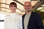 Foto/IPP/Gioia Botteghi 03/02/2017 Roma presentazione del film MAMMA O PAPA', nella foto: Paola Cortellesi  ed il regista Riccardo Milani