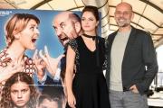 Foto/IPP/Gioia Botteghi 03/02/2017 Roma presentazione del film MAMMA O PAPA', nella foto:  il regista Riccardo Milani con Matilde Gioli