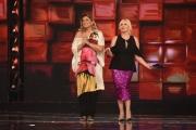 Foto/IPP/Gioia Botteghi 17/02/2017 Roma prima puntata della trasmissione STANDING OVATION rai uno, nella foto Antonella Clerici la conduttrice e la giuria con Romina Power