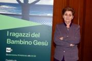 Foto/IPP/Gioia Botteghi 17/02/2017 Roma  presentazione del programma di rai tre I RAGAZZI DEL BAMBINO GESU, nella foto :  Mariella Enoc Presidente dell'ospedale pediatrico Bambino Gesù