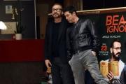 Foto/IPP/Gioia Botteghi 20/02/2017 Roma presentazione del film BEATA IGNORANZA, nella foto: Marco Giallini, Alessandro Gassmann