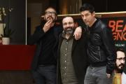 Foto/IPP/Gioia Botteghi 20/02/2017 Roma presentazione del film BEATA IGNORANZA, nella foto: Marco Giallini, Alessansro Gassmann ed il regista Massimiliano Bruno