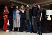 Foto/IPP/Gioia Botteghi 20/02/2017 Roma presentazione del film BEATA IGNORANZA, nella foto: cast protagonisti