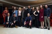 Foto/IPP/Gioia Botteghi 20/02/2017 Roma presentazione del film BEATA IGNORANZA, nella foto: cast