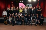 Foto/IPP/Gioia Botteghi 21/02/2017 Roma presentazione del programma di rai due MADE IN SUD, nella foto:  tutti i comici