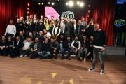 Foto/IPP/Gioia Botteghi 21/02/2017 Roma presentazione del programma di rai due MADE IN SUD, nella foto: Gigi D'Alessio  e tutti i comici