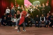 Foto/IPP/Gioia Botteghi 21/02/2017 Roma presentazione del programma di rai due MADE IN SUD, nella foto: Gigi D'Alessio con Fatima Trotta e tutti i comici
