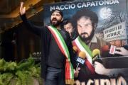 Foto/IPP/Gioia Botteghi 22/02/2017 Roma presentazione del film Omicidio All'italiana, nella foto Maccio capatonda ( Marcello Macchia )