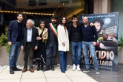 Foto/IPP/Gioia Botteghi 22/02/2017 Roma presentazione del film Omicidio All'italiana, nella foto cast