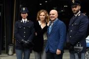 Foto/IPP/Gioia Botteghi 24/02/2017 Roma presentazione della fiction MONTALBANO, nella foto Luca Zingaretti e Sonia Bergamasco
