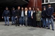 Foto/IPP/Gioia Botteghi 24/02/2017 Roma presentazione della fiction MONTALBANO, nella foto Luca Zingaretti e  cast e agenti veri
