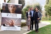 Foto/IPP/Gioia Botteghi 28/02/2017 Roma  presentazione del film Il Padre d'Italia, nella foto: Il regista Fabio Mollo, Isabella Ragonese, Luca Marinelli