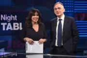 Foto/IPP/Gioia Botteghi 02/03/2017 Roma  Enrico Rossi ospite della trasmissione Tabloid con Annalisa Bruchi