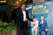 Foto/IPP/Gioia Botteghi 06/03/2017 Roma presentazione del film QUESTIONE DI KARMA, nella foto: Massimo De Lorenzo