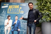 Foto/IPP/Gioia Botteghi 06/03/2017 Roma presentazione del film QUESTIONE DI KARMA, nella foto: Elio Germano