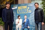 Foto/IPP/Gioia Botteghi 06/03/2017 Roma presentazione del film QUESTIONE DI KARMA, nella foto: Fabio De Luigi , Elio Germano