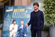 Foto/IPP/Gioia Botteghi 06/03/2017 Roma presentazione del film QUESTIONE DI KARMA, nella foto: Fabio De Luigi
