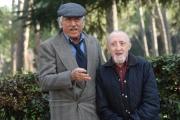 Foto/IPP/Gioia Botteghi 13/03/2017 Roma presentazione del film Chi salverà le rose, nella foto: LANDO BUZZANCA e Carlo Delle Piane