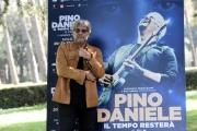 Foto/IPP/Gioia Botteghi 14/03/2017 Roma presentazione del film Pino Daniele, il tempo resterà, nella foto:Tony Esposito
