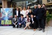 Foto/IPP/Gioia Botteghi 16/03/2017 Roma presentazione del film Non è un paese per giovani, nella foto: cast