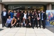 Foto/IPP/Gioia Botteghi 23/03/2017 Roma  presentazione del film CLASSE Z nella foto  cast