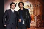 Foto/IPP/Gioia Botteghi 23/03/2017 Roma  presentazione del film 3d di SKY RAFFAELLO, nella foto Flavio Parenti con Marco Cocci