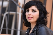 Foto/IPP/Gioia Botteghi 29/03/2017 Roma presentazione del film LIBERE, DISOBBEDIENTI, INNAMORATE – IN BETWEEN, nella foto: la regista Maysaloun HAMOUD