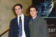 Foto/IPP/Gioia Botteghi 03/04/2017 Roma presentazione del film Startup, nella foto: Andrea Arcangeli ed il vero Matteo Achilli