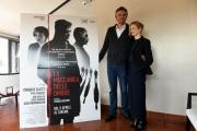 Foto/IPP/Gioia Botteghi 05/04/2017 Roma presentazione del film La meccanica delle ombre, nella foto il regista  Thomas Kruithof con  Alba Rohrwacher