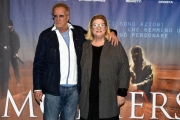 Foto/IPP/Gioia Botteghi 05/04/2017 Roma presentazione del film MOTHERS, nella foto: la regista Liana Marabini con Christopher Lambert