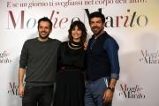 Foto/IPP/Gioia Botteghi 06/04/2017 Roma presentazione del film moglie e marito, nella foto: regia di Simone Godano  con Pierfrancesco Favino, Kasia Smutniak