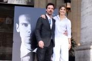 Foto/IPP/Gioia Botteghi 13/04/2017 Roma presentazione del film La Verità, nella foto: Francesco Montanari e Nicoletta Romanoff