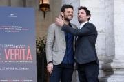 Foto/IPP/Gioia Botteghi 13/04/2017 Roma presentazione del film La Verità, nella foto: Francesco Montanari e Fabrizio Nevola