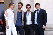 Foto/IPP/Gioia Botteghi 13/04/2017 Roma presentazione del film La Verità, nella foto: il regista Giuseppe Alessio Nuzzo, Romanoff, Montanari, Nevola