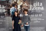 Foto/IPP/Gioia Botteghi 18/04/2017 Roma presentazione del film  Una gita a Roma, nella foto: Tea Buranelli e Libero Natoli