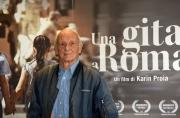 Foto/IPP/Gioia Botteghi 18/04/2017 Roma presentazione del film  Una gita a Roma, nella foto: Philippe Leroy