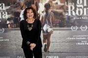 Foto/IPP/Gioia Botteghi 18/04/2017 Roma presentazione del film  Una gita a Roma, nella foto:  Claudia Cardinale