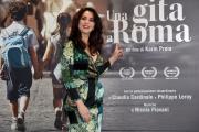 Foto/IPP/Gioia Botteghi 18/04/2017 Roma presentazione del film  Una gita a Roma, nella foto:  la regista Karin Proia