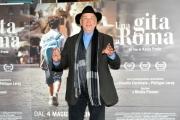 Foto/IPP/Gioia Botteghi 18/04/2017 Roma presentazione del film  Una gita a Roma, nella foto:  Giovanni Lombardo Radice
