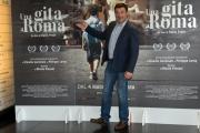 Foto/IPP/Gioia Botteghi 18/04/2017 Roma presentazione del film  Una gita a Roma, nella foto:  Fabrizio Apolloni