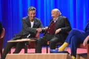 Foto/IPP/Gioia Botteghi 19/04/2017 Roma prima delle 6 puntate del Maurizio Costanzo Show in onda su canale 5, nella foto: Rosario Fiorello
