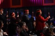 Foto/IPP/Gioia Botteghi 19/04/2017 Roma prima delle 6 puntate del Maurizio Costanzo Show in onda su canale 5, nella foto: Otelma e i suoi ciccioni