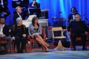 Foto/IPP/Gioia Botteghi 12/11/2015 Roma Prima puntata della nuova serie del Maurizio Costanzo Show, nella foto:   Vladimir con la madre ed il padre
