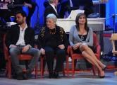Foto/IPP/Gioia Botteghi 12/11/2015 Roma Prima puntata della nuova serie del Maurizio Costanzo Show, nella foto:  Federico Vespa, Vladimir con la madre