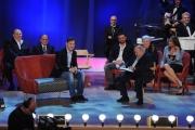 Foto/IPP/Gioia Botteghi 12/11/2015 Roma Prima puntata della nuova serie del Maurizio Costanzo Show, nella foto: Totti e Costanzo