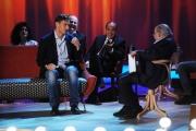 Foto/IPP/Gioia Botteghi 12/11/2015 Roma Prima puntata della nuova serie del Maurizio Costanzo Show, nella foto: Totti e Costanzo Vespa