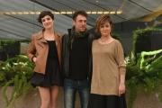 Foto/IPP/Gioia Botteghi 20/04/2017 Roma presentazione del film LA TENEREZZA, nella foto: Micaela Ramazzotti e Giovanna Mezzogiorno con Elio Germano