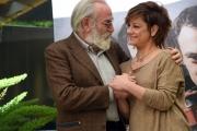 Foto/IPP/Gioia Botteghi 20/04/2017 Roma presentazione del film LA TENEREZZA, nella foto: Giovanna Mezzogiorno con Renato Carpentieri