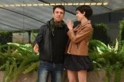 Foto/IPP/Gioia Botteghi 20/04/2017 Roma presentazione del film LA TENEREZZA, nella foto: Micaela Ramazzotti  ed Elio Germano